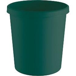 Helit Papierkorb The Green German Kunststoff Grün 31,5 x 31,5 x 33,1 cm 15 Stück