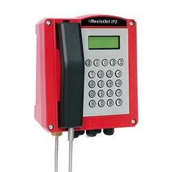FHF Wetterfestes Telefon ResistTel IP 2 2x LAN rot 1126438102