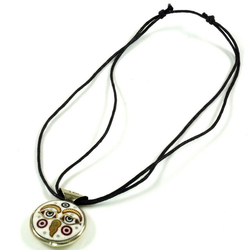 Guru-Shop Perlenkette Tibetkette Buddha eye Halskette