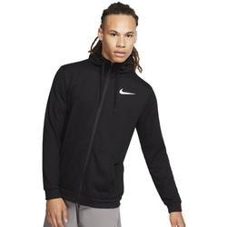 Nike Dri-FIT Full-Zip Training Hoodie - Laufjacke - Herren Black