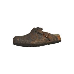 PAPILLIO Damen Hausschuh 'Boston' grau / bronze, Größe 42, 3885473