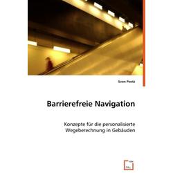Barrierefreie Navigation als Buch von Sven Peetz