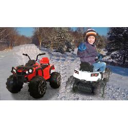 Ride-on Quad Protector weiß 12V