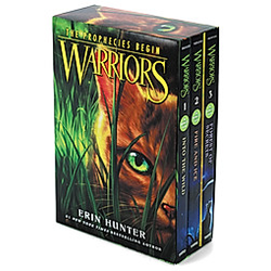 Warriors  Into the Wild / Warriors  Fire and Ice / Warriors  Forest of Secrets. Erin Hunter  - Buch