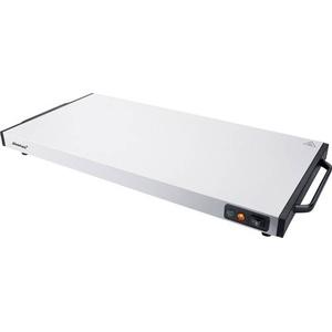 Steba Germany Warmhalteplatte WP 130 Edelstahl, Schwarz