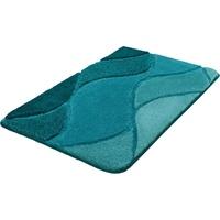 Badematte Fiona Kleine Wolke Badteppich petrol, 55x 65 cm