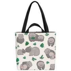 VOID Henkeltasche (1-tlg), Wombats Australien Wombat Haus-Tier Wild-Tier Reise Maus Hamster Sydney