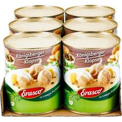 Erasco Königsberger Klopse 800 g, 6er Pack