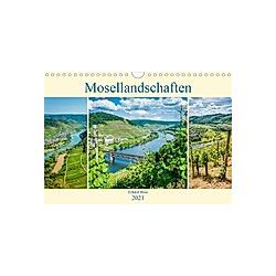 Mosellandschaften (Wandkalender 2021 DIN A4 quer)