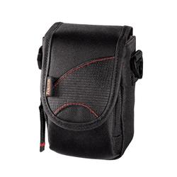 Hama Kameratasche Astana Tasche für Kamera und Videokamera Innenmaße 7,5 x 5,2 x 13 cm schwarz