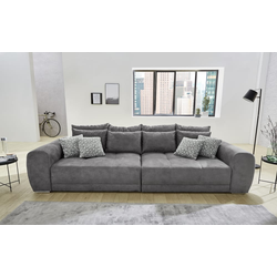 JOB Big Sofa Moldau in grau