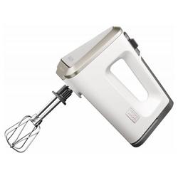 Krups Handmixer 3 Mix 9000 Exklusiv Handmixer - weiß/grau, 500 W