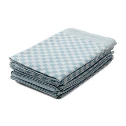 Hometex Premium Textiles Geschirrtuch, (10er Set Geschirrtuch Grubentuch, 100% Baumwolle Zwirn, Sehr saugfähig - Premium Qualität) blau
