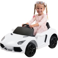 Actionbikes Motors Kinder Elektroauto Kinderauto Kinderfahrzeug Elektrofahrzeug Spielzeug Auto (Weiß)