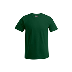Promodoro T-Shirt Premium T-Shirt Rundhals in Übergröße grün