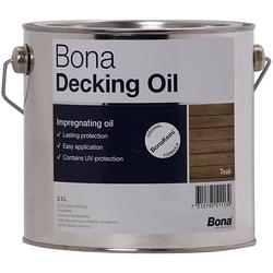 Bona Decking Oil 2,5 Liter Teak Terrassenöl