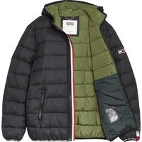 Tommy Jeans TJM Essential Padded Hood schwarz S
