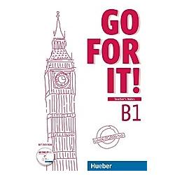 Go for it!: .B1 Teacher's Notes  m. DVD-ROM. Melissa Kuhnert  - Buch