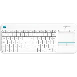 Logitech K400 Plus Wireless Touch Keyboard DE weiß 920-007128