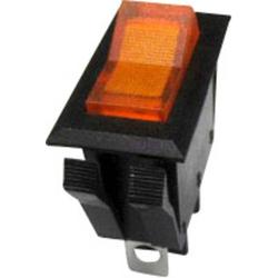 SCI Wippschalter R13-72B-01 250 V/AC 10A 1 x Aus/Ein rastend