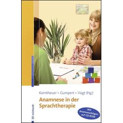 Anamnese in der Sprachtherapie: Buch von