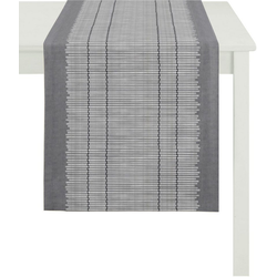 APELT Tischläufer 3033 Loft Bambusmatte (1-tlg) grau