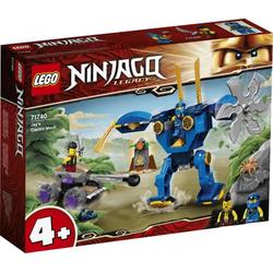 LEGO® Puzzle LEGO® NINJAGO 71740 Jays Elektro-Mech, Puzzleteile