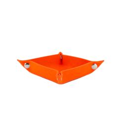Filzschale DIY Dekoschale als Schlüsselablage Geld Ablage - orange
