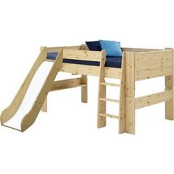 Molly Kids Kiefer Kinderbett 90x200 Kinderzimmer Holz Bett Einzelbett braun