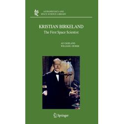 Kristian Birkeland als Buch von William J. Burke/ Alv Egeland