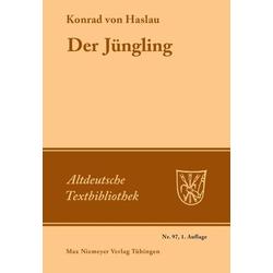 Der Jüngling als Buch von Konrad von Haslau