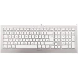 Cherry JK-0370DE STRAIT 3.0 For Mac Corded Multimedia Keyboard USB silber