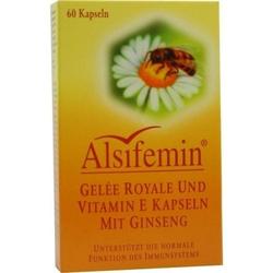 ALSIFEMIN Gelee Royal+Vit.E m.Ginseng Kapseln 60 St.