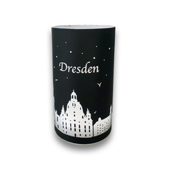 Goldbach LED Dekolicht Dresden, schwarz-silber