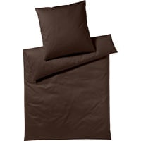 Yes for Bed Pure & Simple Uni dunkelbraun (155x220+80x80cm)