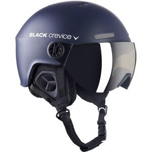 Black Crevice Erwachsene Skihelm Gstaad, Navy/weiß, 58-61 cm