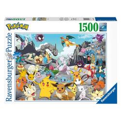 Ravensburger Puzzle Pokémon Classics 1500 Teile, Puzzleteile