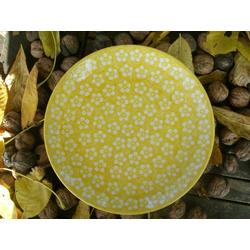Essteller, Ø26 cm, Bunzlau gelb, BSN m-4353