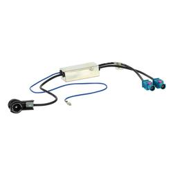 Antennenadapter mit Diversity 2x Fakra -> ISO