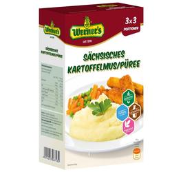 Sächsisches Kartoffelmus / Püree 3 x 3 Portionen - Werner's