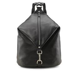 Picard Cityrucksack LUIS, aus Leder in trendiger Form schwarz