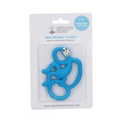 Matchstick Monkey Mini Jouet de dentition Bleu foncé