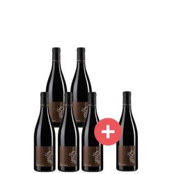 5+1 Paket Gadagne Côtes-du-Rhône Villages Weinlakai Empfehlung - Weinpakete