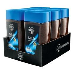 Cafet Instantkaffee Mild 200 g, 6er Pack