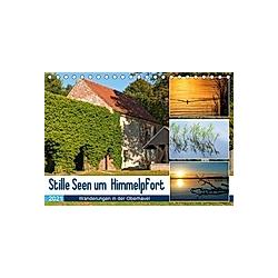 Stille Seen um Himmelpfort (Tischkalender 2021 DIN A5 quer)