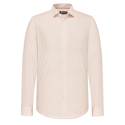 Hemd Hale gemustert Club of Gents Beige