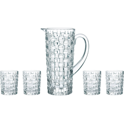 Nachtmann Gläser-Set Bossa Nova (5-tlg), Kristallglas