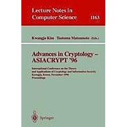 Advances in Cryptology - ASIACRYPT '96 - Buch
