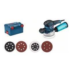 Bosch Exzenterschleifer GEX 125-150 AVE mit L-BOXX - Rotationsschleifer