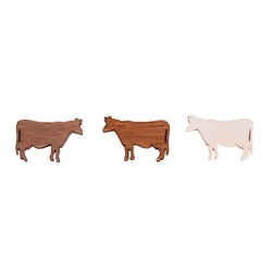 Rayher Holz-Streudeko Kühe 24 St.